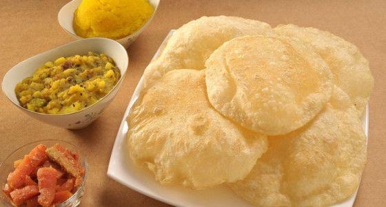 Fenugreek Puri Bread Recipe
