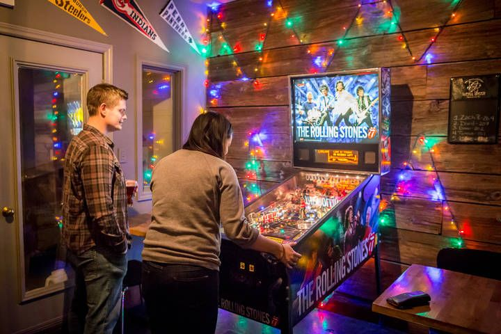 Bars with pinball games are skyrocketing in popularity in Toronto right now. What accompanies drinking better than loud noises, flashing lights, an...