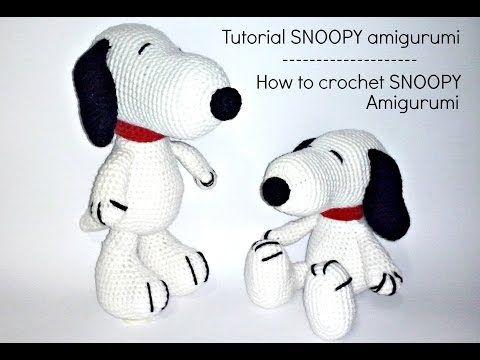 Schema per Snoopy Amigurumi - Video Tutorial | Cucito Creativo - Tutorial gratuiti - Idee Creative - Uncinetto - Riciclo Creativo