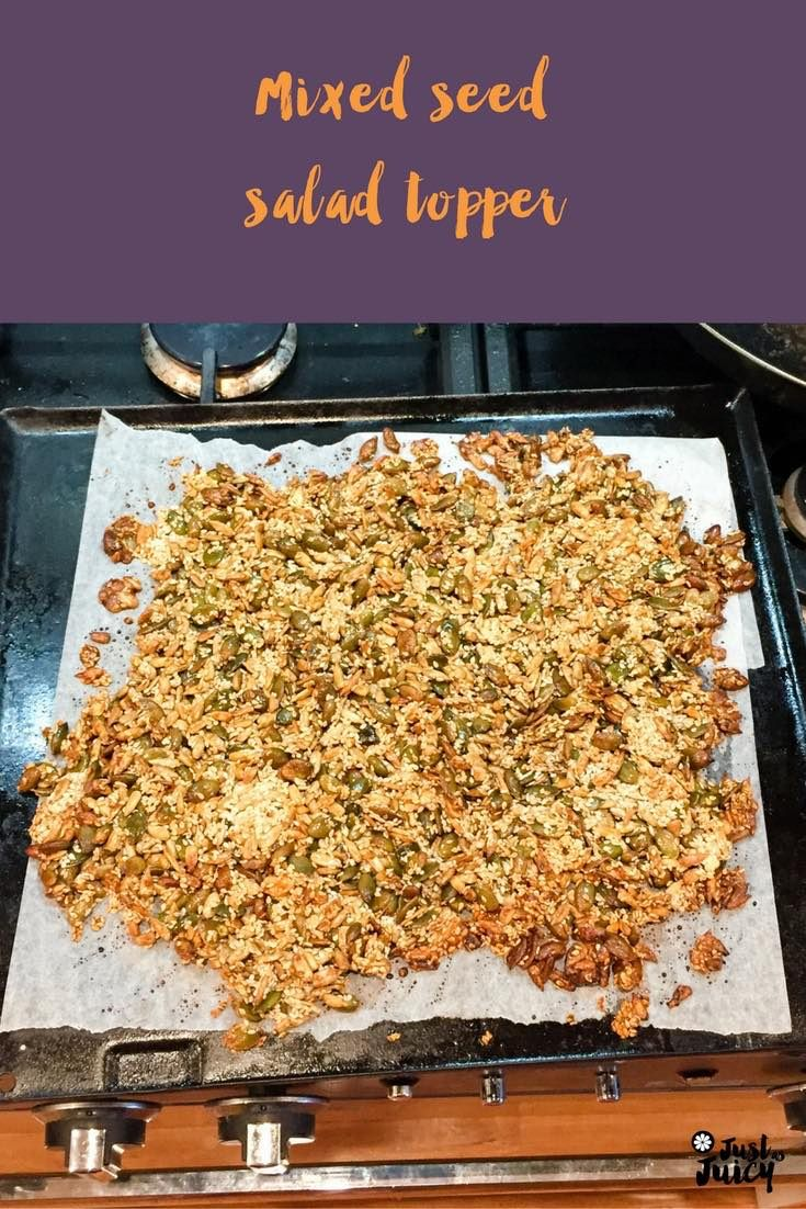 Why you should eat more seeds – and a recipe for a mixed seed salad topper via @melkettle