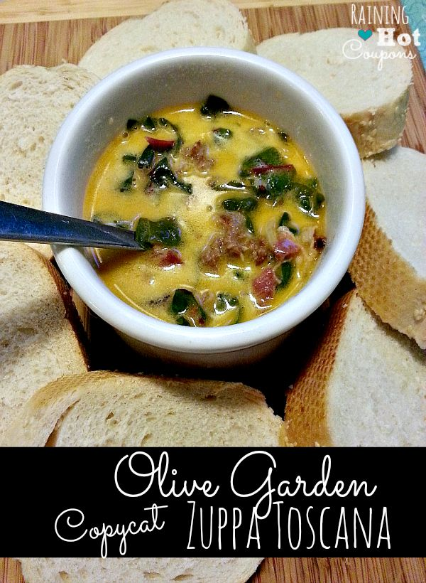 Olive Garden Copy Cat Zuppa Toscana Recipe Gardens Copy Cat Recipe And Next Day