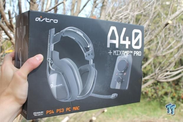 Astro Gaming A40 Headset with MixAmp Pro Review 01 | TweakTown.com