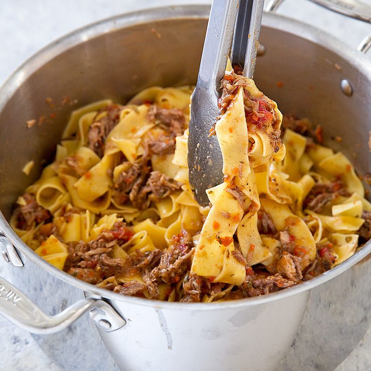 Cooks Illustrated Pork Ragu. This will disappear in about 30 days, so print it now if you want to save it.