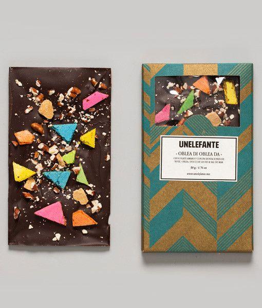 How beautiful! Unelefante Chocolate Bark