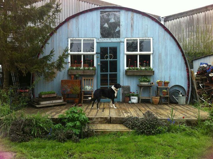 68 best nissen hut homes images on pinterest quonset. Black Bedroom Furniture Sets. Home Design Ideas