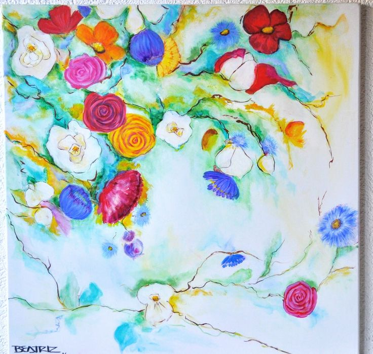 Acrylic *Oil 60*60cm #beatrizstawiskicardenas @paintings.beatriz.stawiski