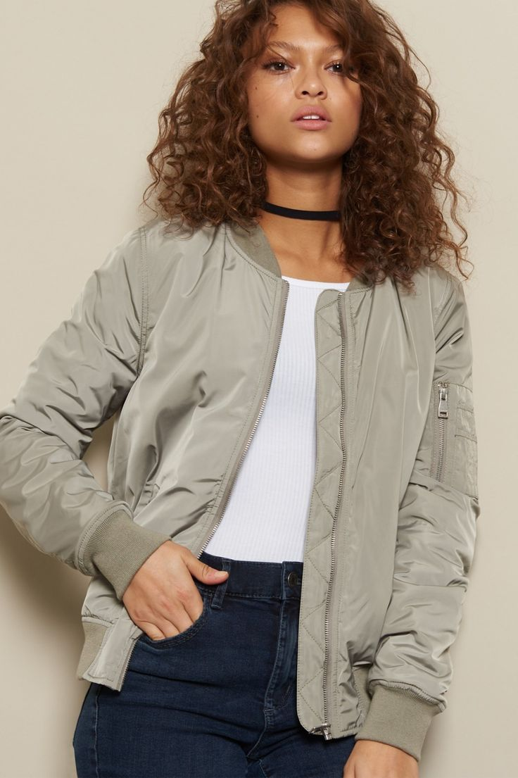 On-point, inside and out! - The Cozy Bomber Jacket
