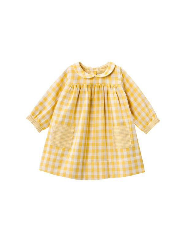 Vestido de bebé niña Petit Bateau - Niña - Vestidos bebe - El Corte Inglés - Moda