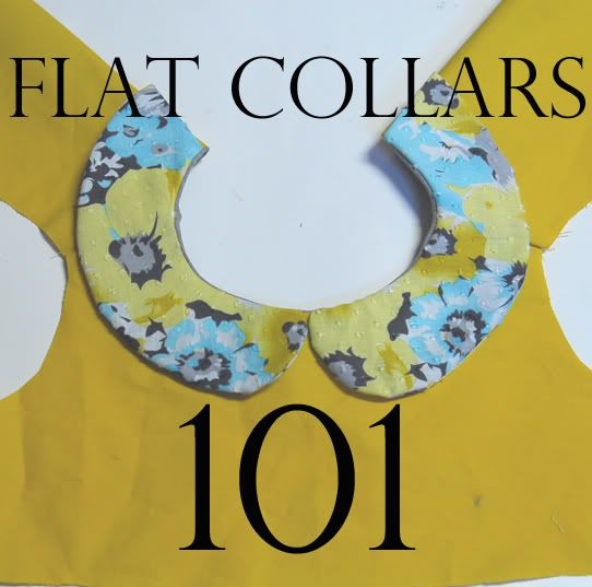 How to draft and sew flat collars(photo tutorial by Shwin and Shwin) ...