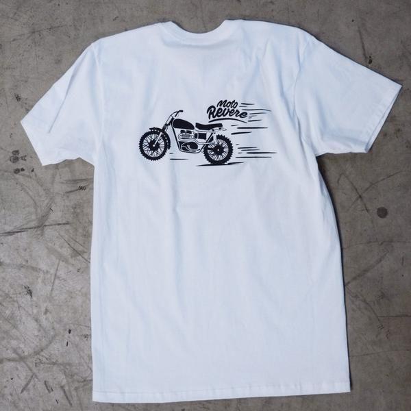 Stevie Scrambler T shirt White