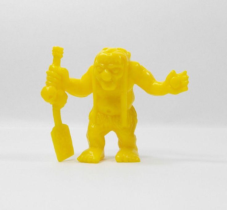 Monster In My Pocket - Series 1 - 42 Charon - Yellow - Mini Figure