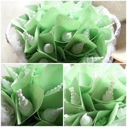 Porta riso origami