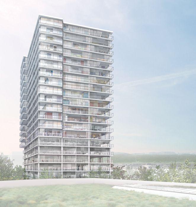 Lacaton & Vassal . High-rise building . Geneva (2)