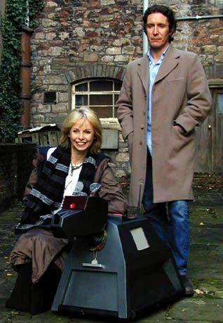 Lalla Ward and Paul McGann