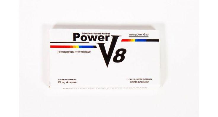 Power V8 - Suplimentul Alimentar Nr.1 pentru potenta si ejaculare precoce - Comunicate de Afaceri