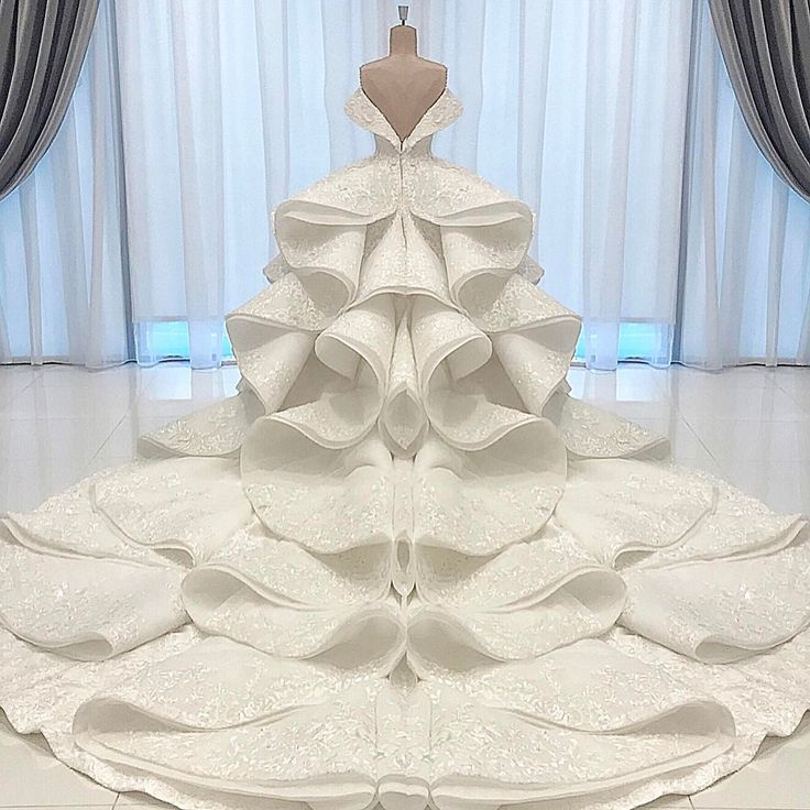 Couture Wedding Dress For A Beautiful Princess From QATAR