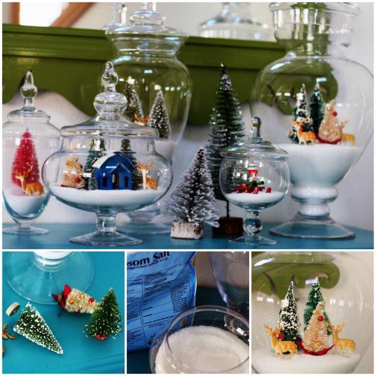 Wonderful DIY Christmas Sparkly Snow Decoration | WonderfulDIY.com