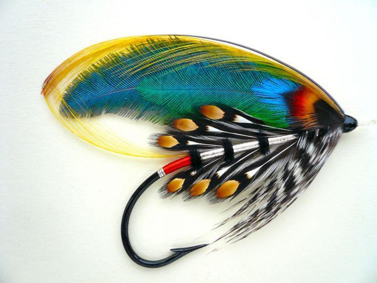 Major Traherne Salmon Fly