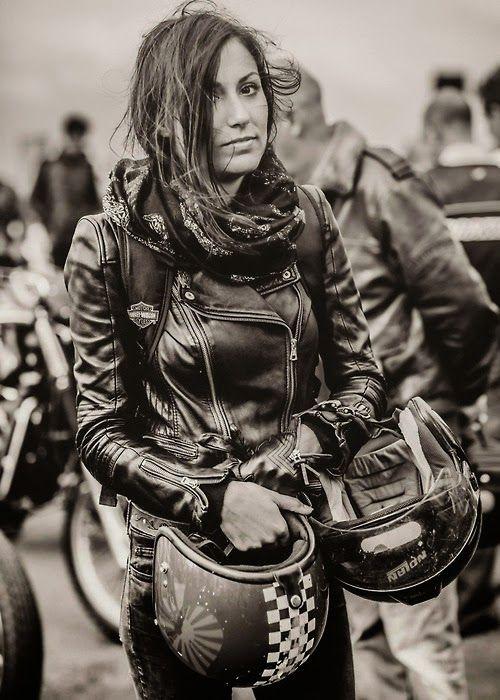 Mercenary: Cafe Racer Girl  #CafeRacerGirl #Mercenary #MercenaryGarage