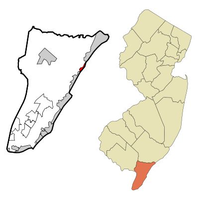 Strathmere, New Jersey From Wikipedia, the free encyclopedia Not to be confused with Strathmore, New Jersey. Strathmere, New Jersey Census designated place Map of Strathmere highlighted within Cape May County. Right: Location of Cape May County in New Jersey. Map of Strathmere highlighted within Cape May County. Right: Location of Cape May County in New Jersey.