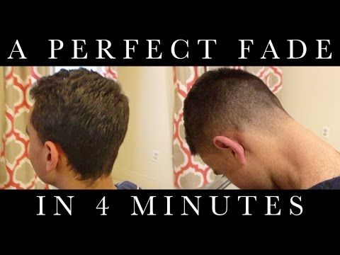 Tip #2: Perfect Fade in 4 Minutes // How to Cut Men's Hair // Tutorial - YouTube