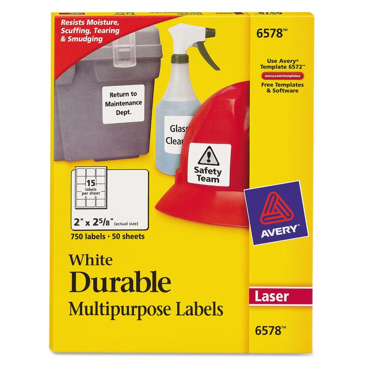 how to make printed labels