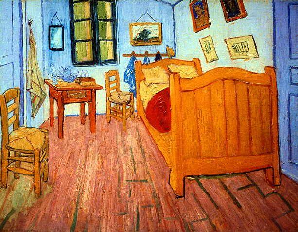Винсент-Виллем-ван Гог. Спальня художника в Арле.