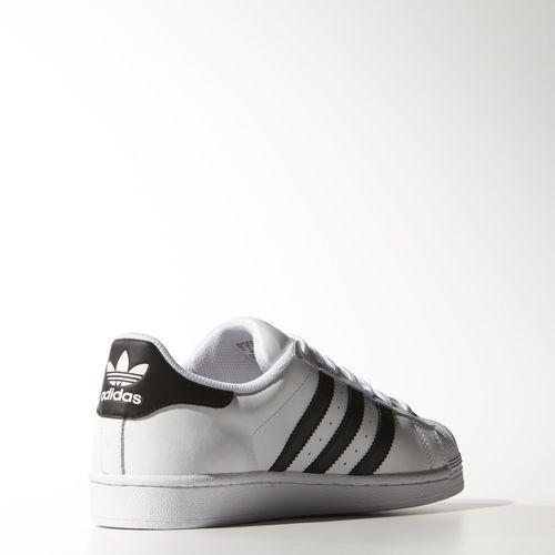 Superstar noir, Adidas