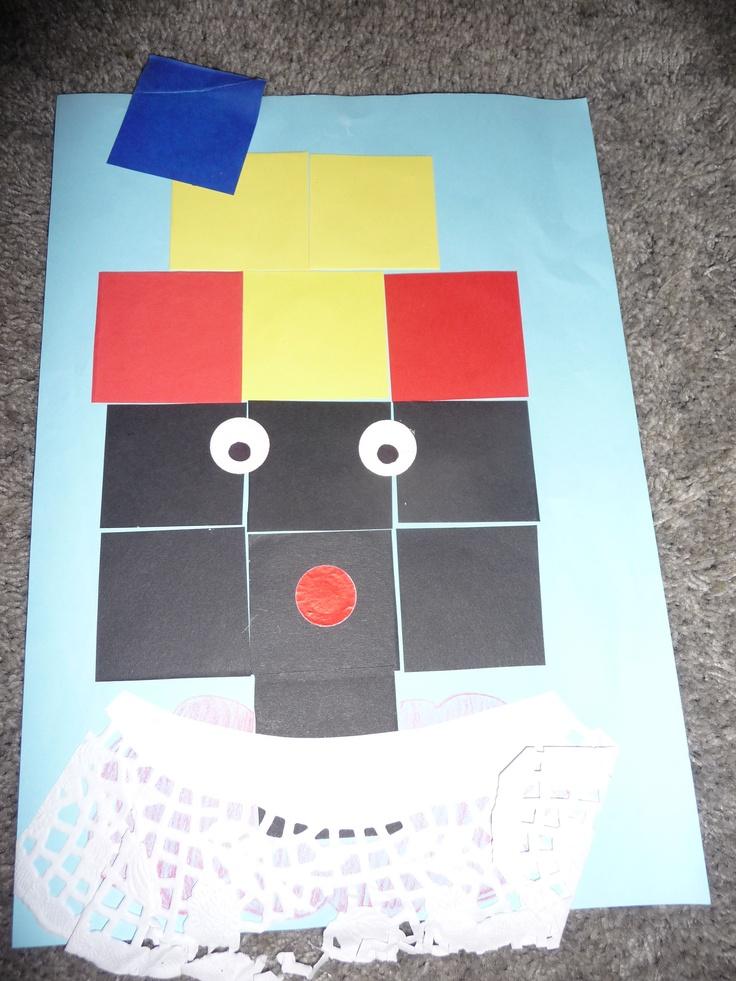 MAP juf Ineke: Sint Een piet van blokjes