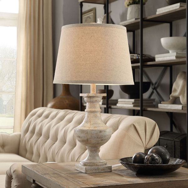 INSPIRE Q Hyperion Sanded Off-White 1-light Accent Table Lamp - Overstock Shopping - Great Deals on INSPIRE Q Table Lamps