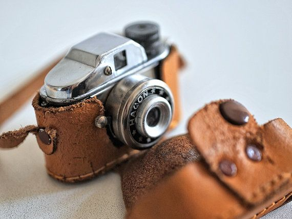 Rare Miniature Camera 1950's JAPAN work by GothChicAccessories