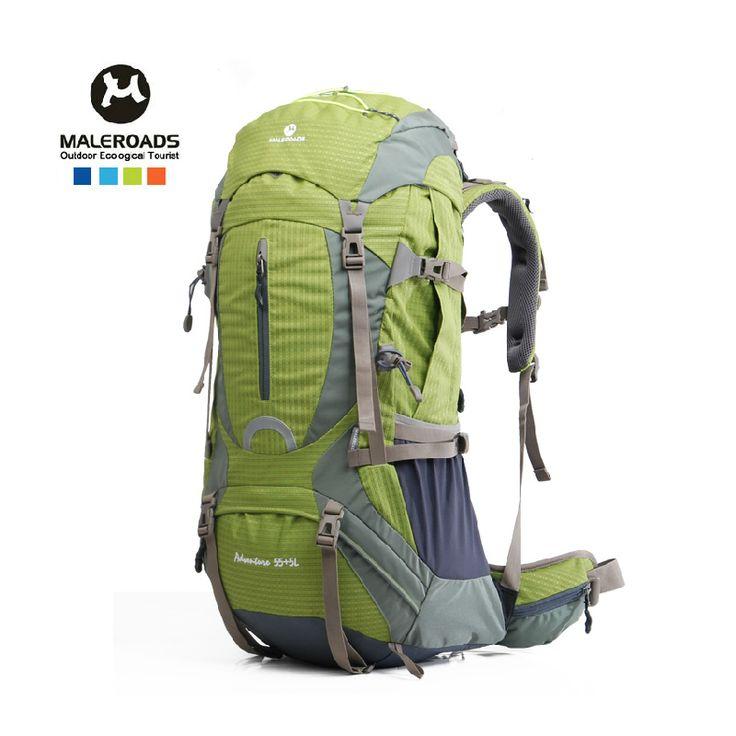 На открытом воздухе спорт мешок на открытом воздухе альпинизм мешок на открытом воздухе рюкзак большие емкости на открытом воздухе пеший туризм рюкзак 50 дюймов 60 л
