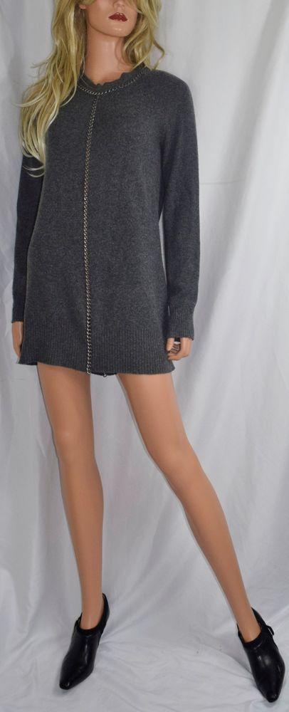 ALL SAINTS SPITAFIELDS Fish Rosella Chain Mini Dress Jumper US Size 6 #AllSaints #Jumper