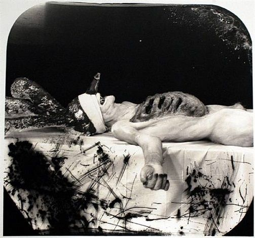 Myself as a dead clown by Joel-Peter Witkin