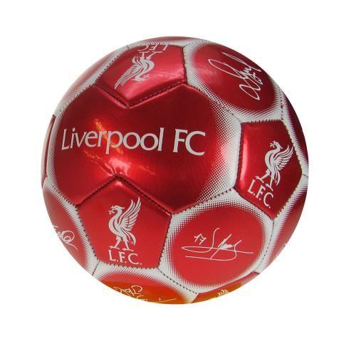Liverpool FC Mini Football Soccer Ball - Signature