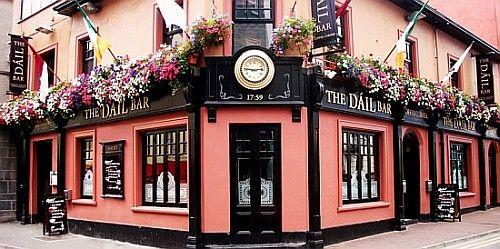 The Dáil Bar ... Galway City, Ireland