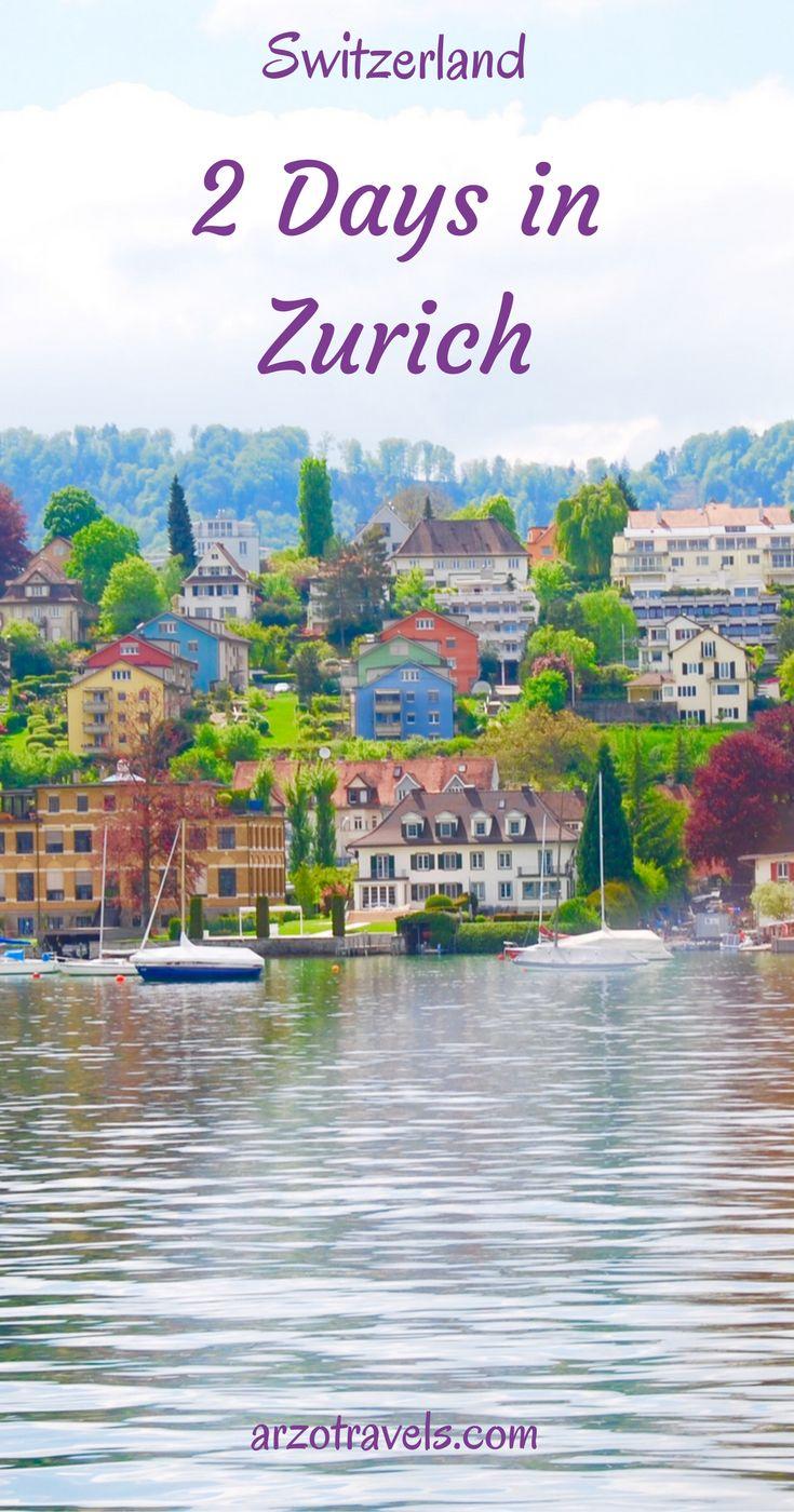 5 places to visit in Zurich, Switzerland
