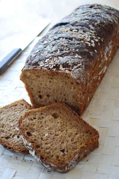 Pan de avena a la antigua. Receta tradicional