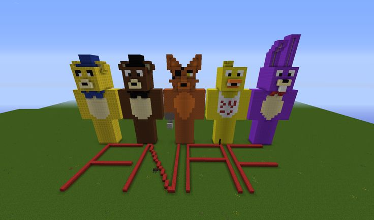 Fnaf and minecraft on pinterest