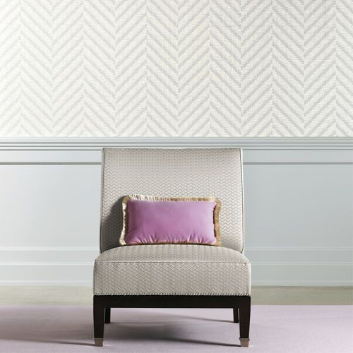Patterned wallpaper / in vinyl WAVE DEDAR