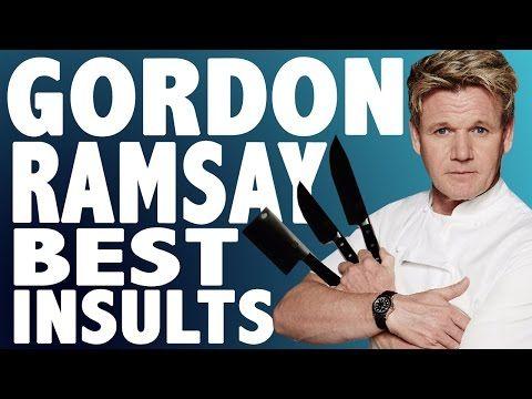 Gordon Ramsay Best Insults - Hells Kitchen/ Kitchen Nightmares