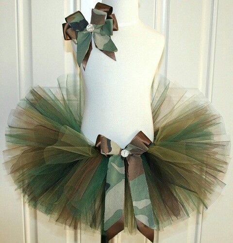 Daddy wants girly girl to have some camouflage.  Wonder if this would suffice. :)