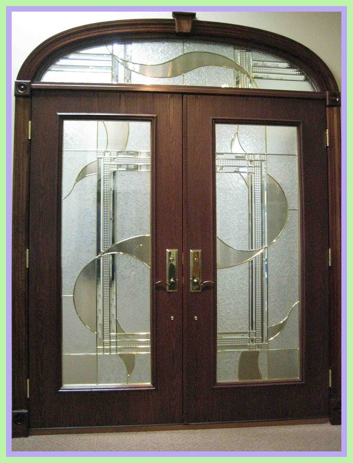 120 Reference Of Front Double Door Design For House In 2020 Door Glass Design Modern Exterior Doors Fiberglass Exterior Doors