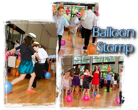 Balloon stomp party game party ideas pinterest for Balloon party games
