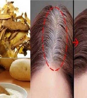 ősz haj eltüntetése házilag