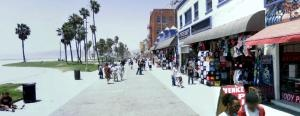 Click, download and run on your iFit equipment - Ocean Front Walk, Venice Beach