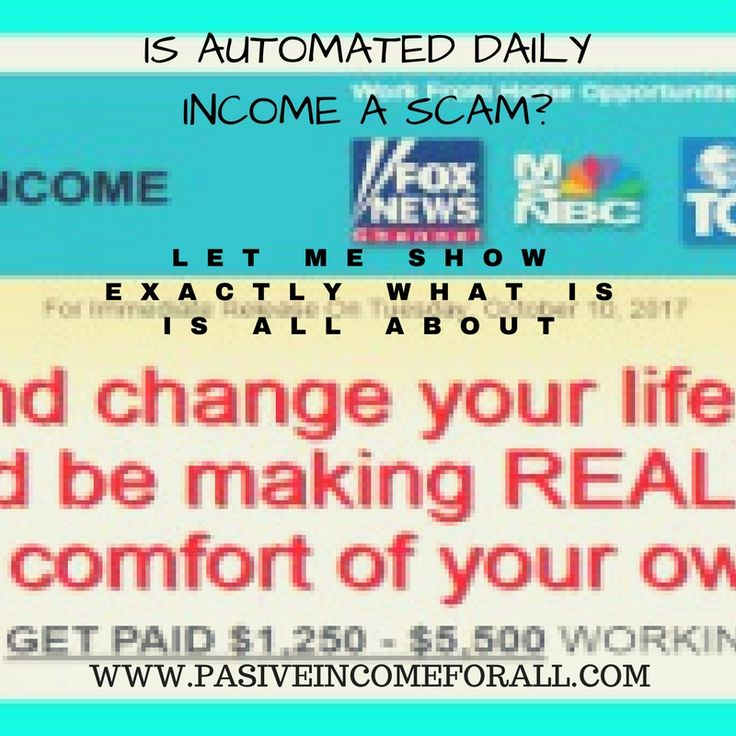Automated Daily Income promises you that You would be starting to make money within the first 60minutes! Is this really possible or there something else that is going? Let me show you exactly what happens when you sign up and reveal you to how things work behind closed doors.