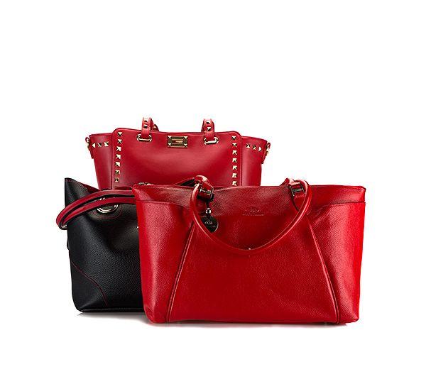 Walentynkowe torebki.