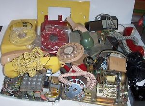 Lot of Vintage Telephone Rotary Dial Bell Phone Parts Repair Red Green Gold | eBay. Vintage TelephoneDoor HingesRotaryRed ... & 16 best DIY Home repairs and parts like Door hinges etc. images ... pezcame.com