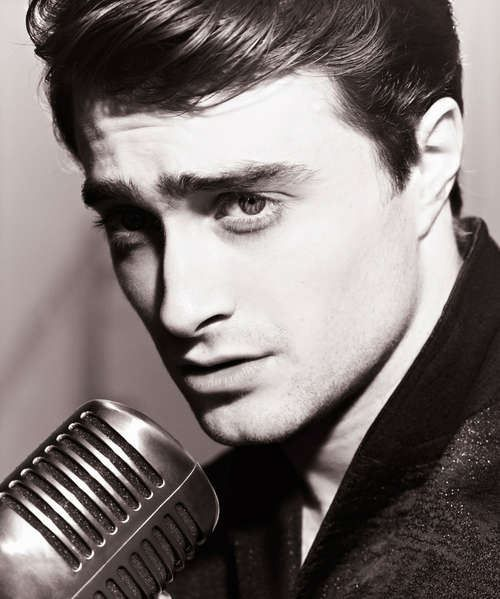 Daniel Radcliffe, delish...